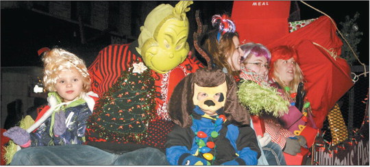 Holiday parade to light up the night on Dec. 4
