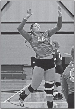 CC volleyball players named to NEIC all-conference teams