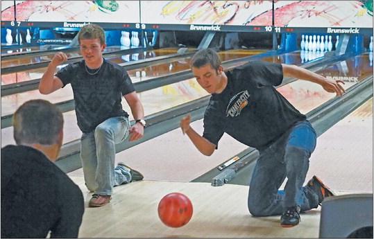 When the bowling gets tough,  the tough get bowling