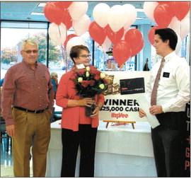 Hy-Vee announces $25K winner in Charles City