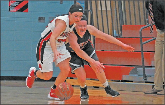 Chickasaws out-muscle Huskies in opener