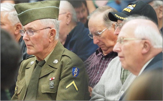 Veteran to CC: 'Set aside differences'