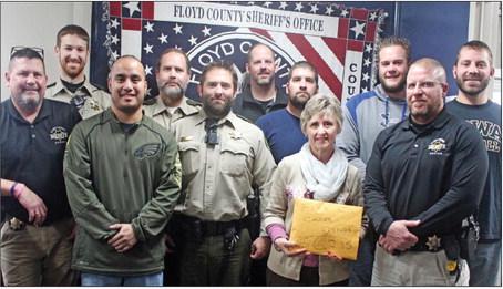 Deputies let it grow, raising more than $6,200