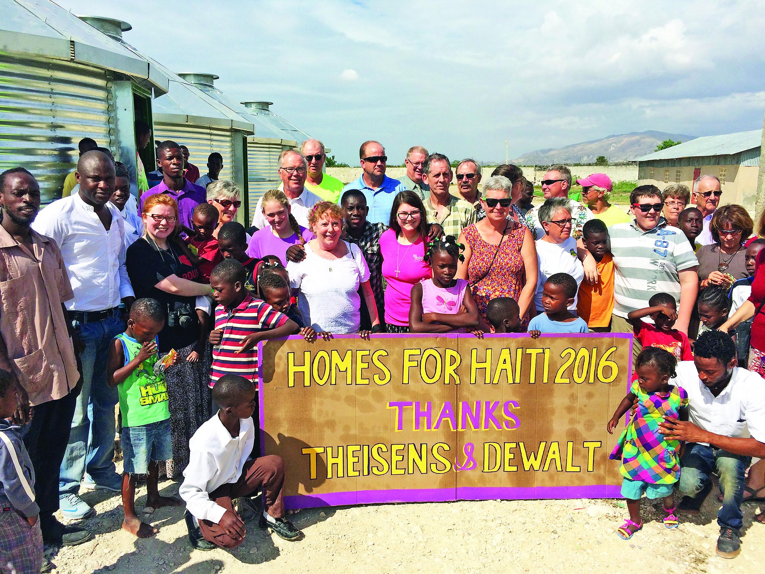 CC helpers home from Haiti
