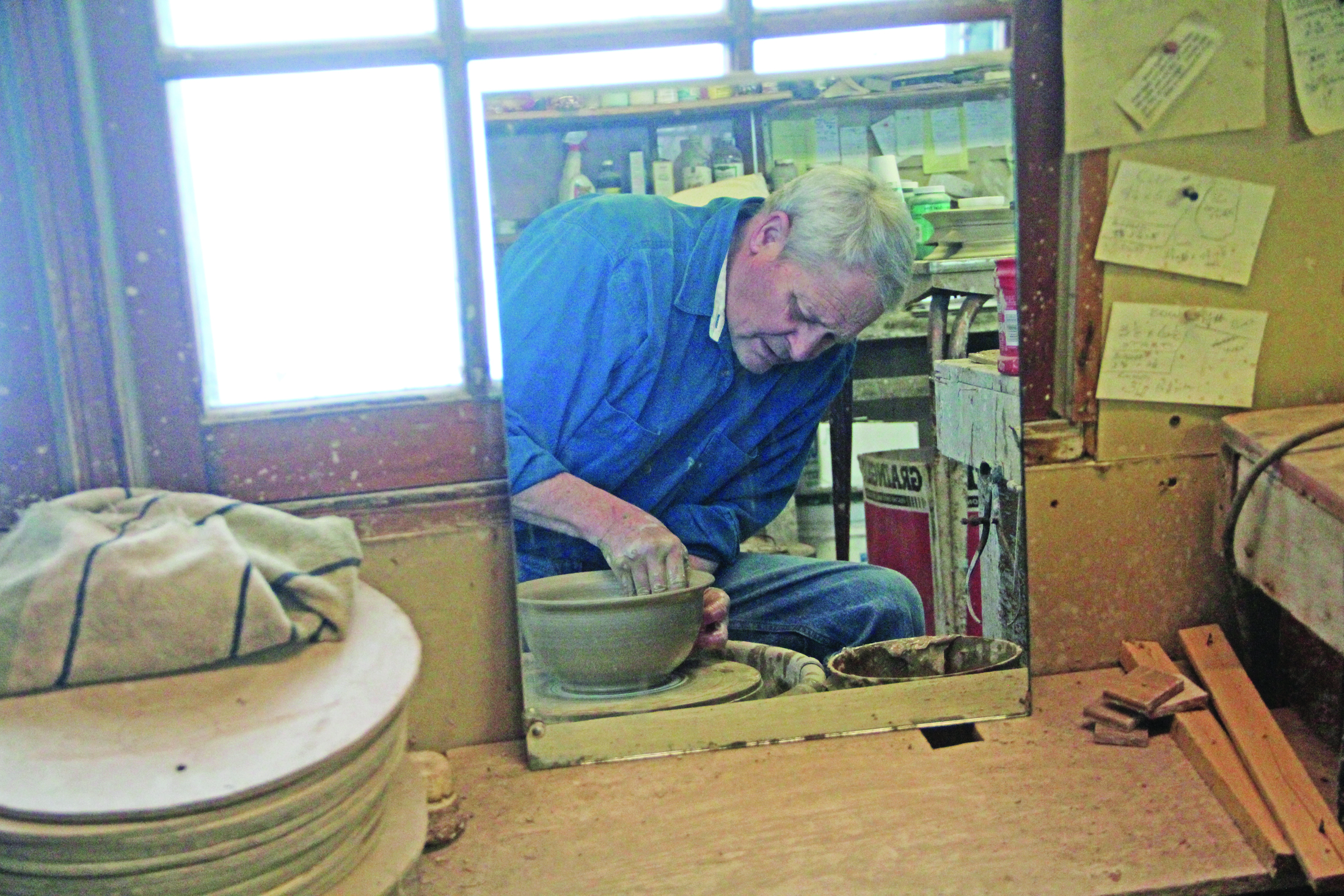 Filled with charm: Behind the creation of raku pottery