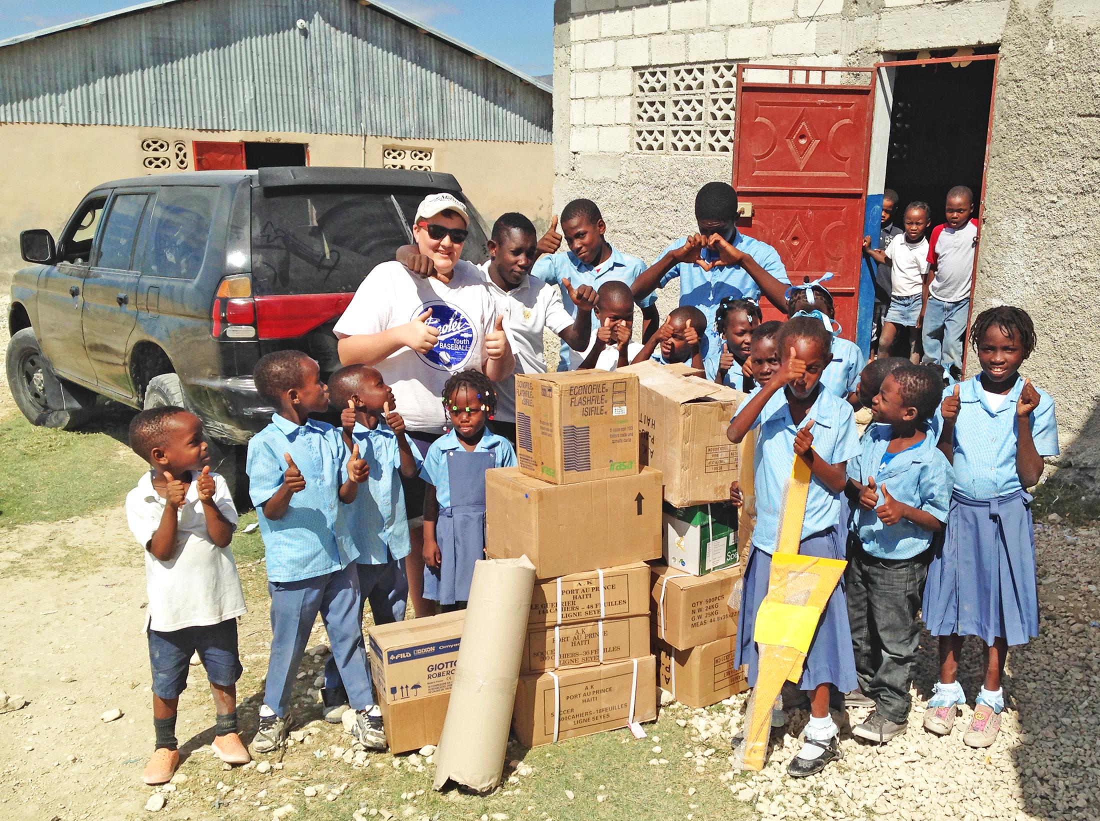 Student raises $2,000 for school supplies in Haiti