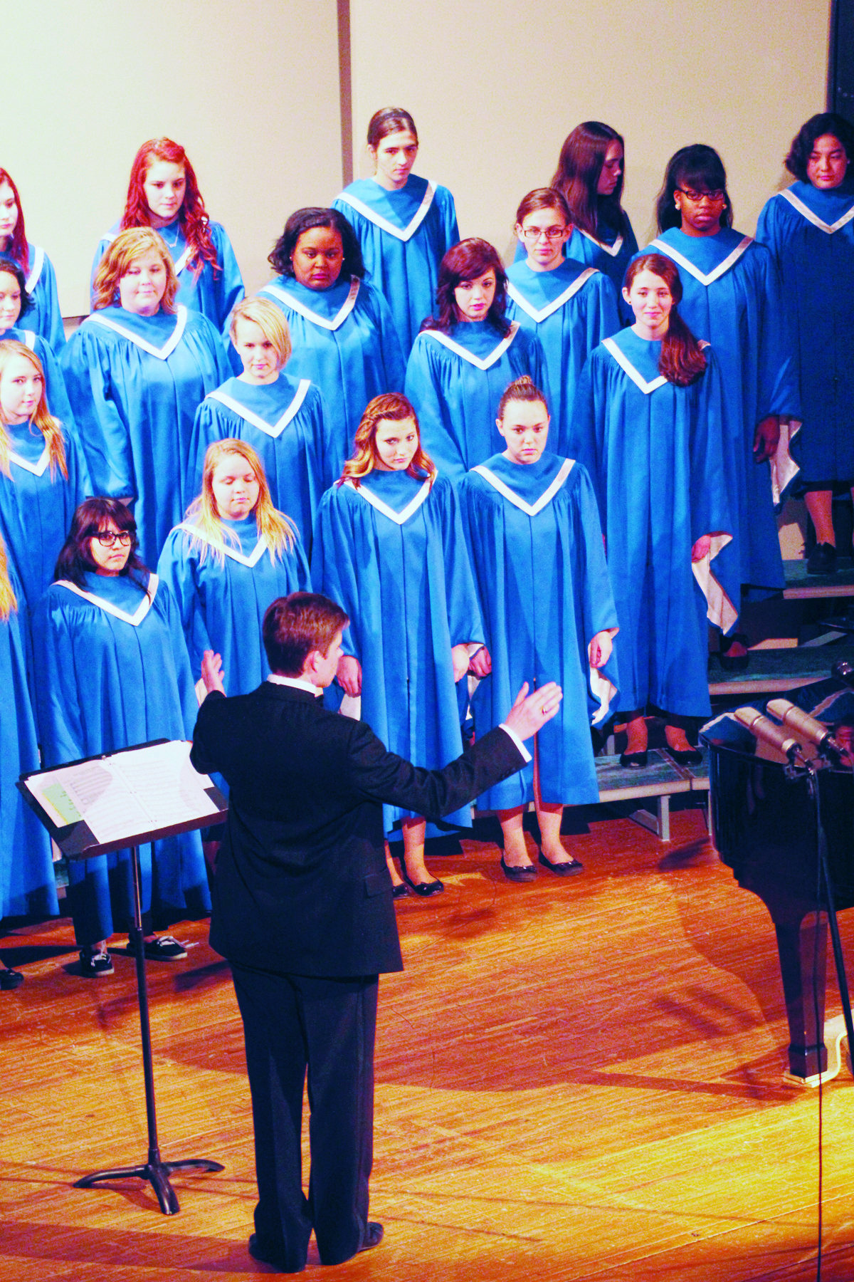 Dressed for the part: CCHS choir begins fundraisers