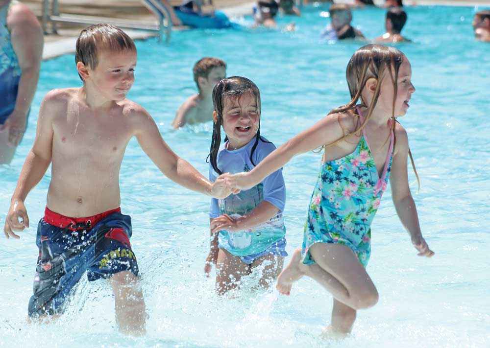 Alert: Pool weekend ahead