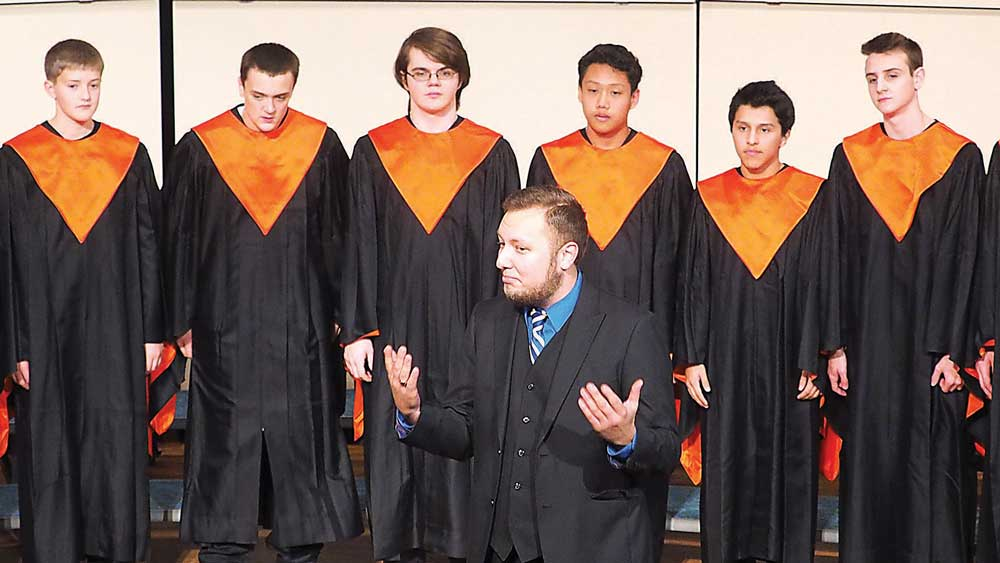 Singing as one: CC Singers and high school choirs join for performance