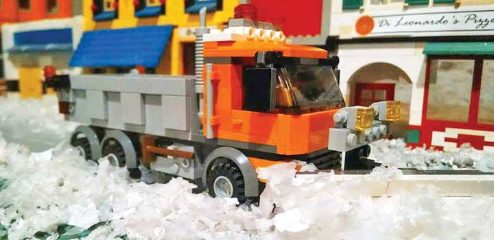 Establishing a city, block by Lego block