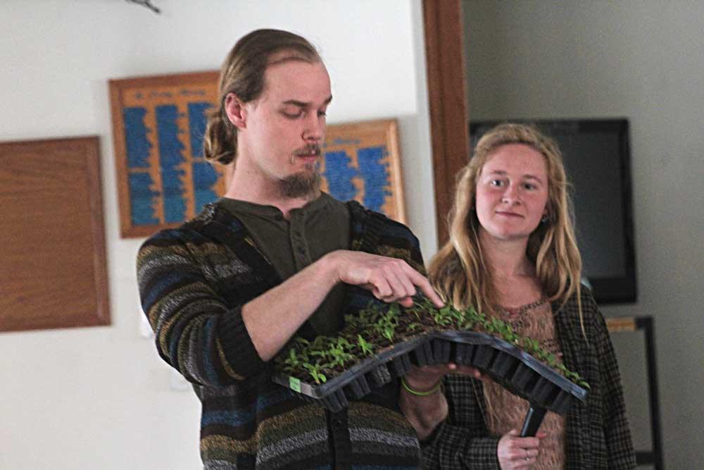 Farm fresh: Organic farmers share businesses at CC Senior Center