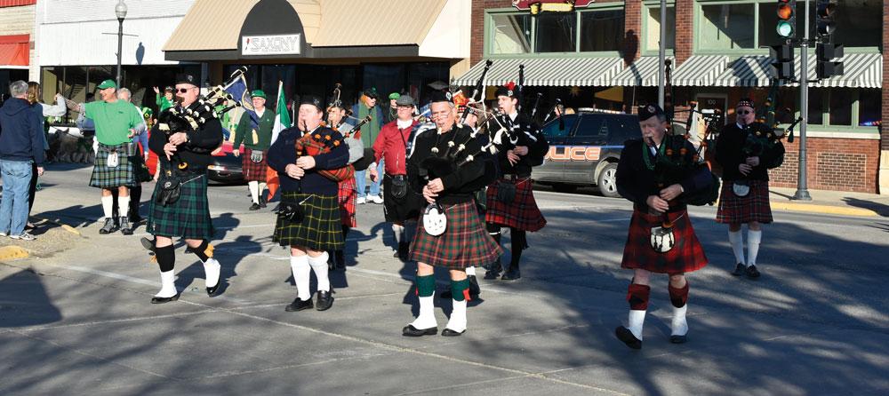 Charles City St. Patrick's Day Parade