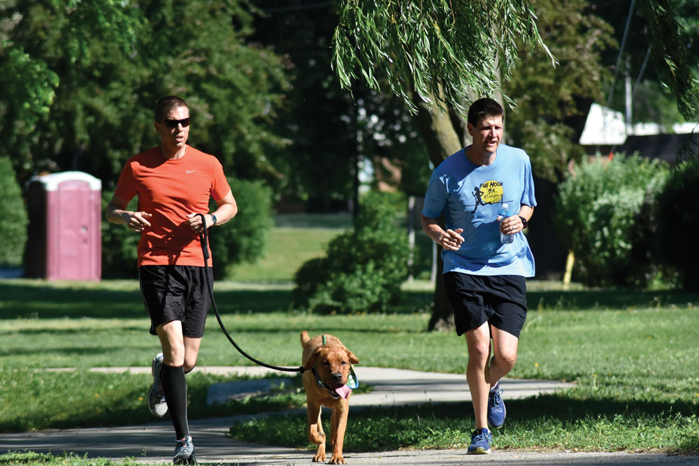 PAWS Cedar Dog Jog couldn't ask for a better day
