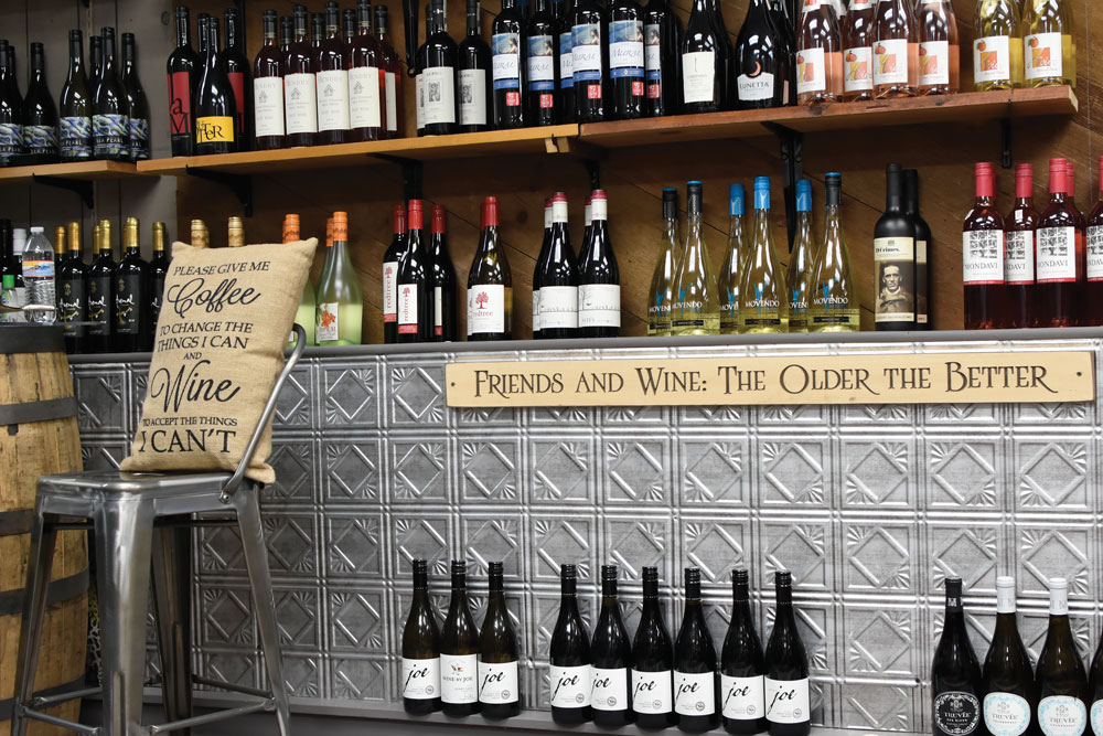 Darbe & Co.'s new location always has a wine tasting