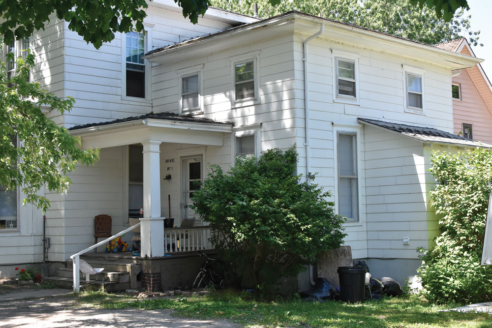 Men charged in Charles City burglaries