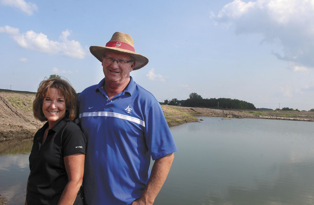 GALLERY: Newest CREP site offers look at wetland development