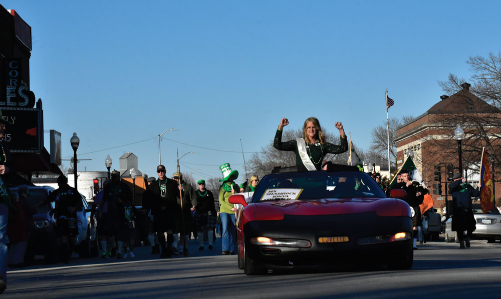 '25th First Ever' St Patrick's Day parade marches on