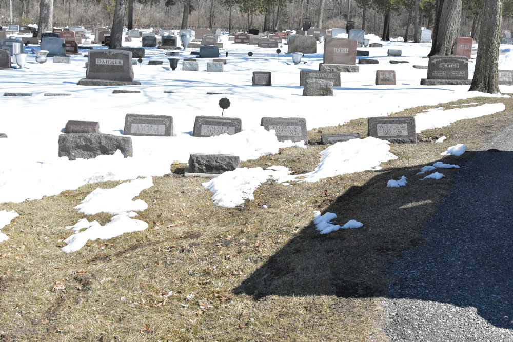 No vandalism at Riverside Cemetery