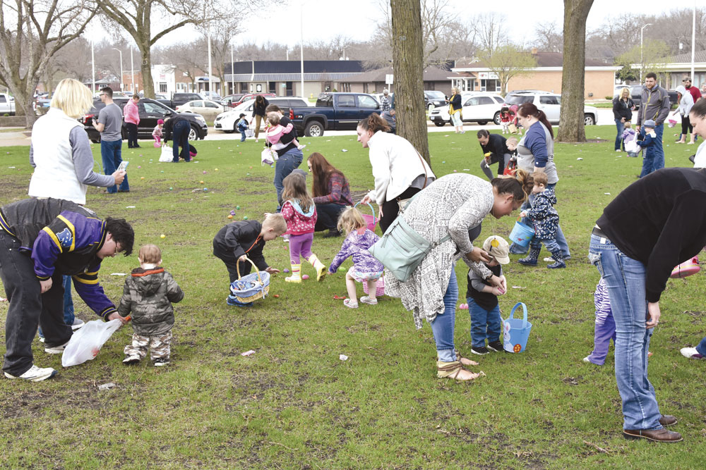 Saturday's Easter Egg Hunt moved to high school gym
