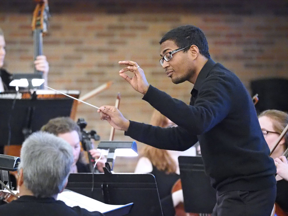 Orchestral groups combine for community 'Rebirth' performance
