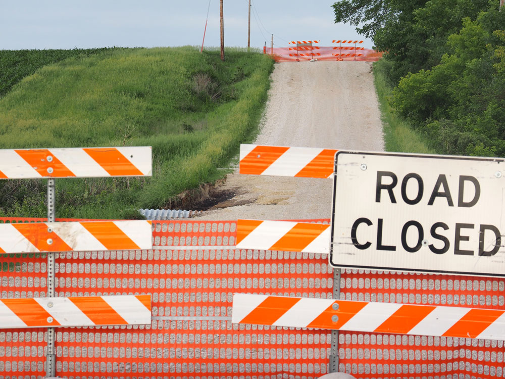 Floyd County road repairs continue after weekend storm