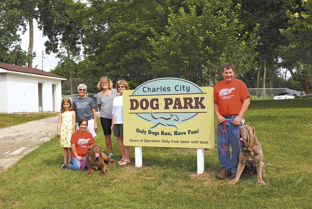 Charles City Dog Park now all open