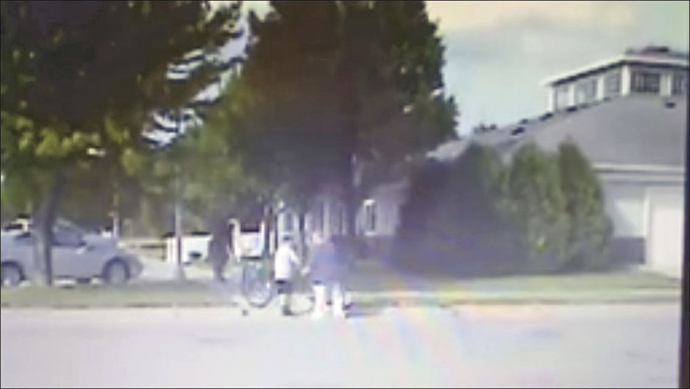 Good deed recorded by Charles City Police Chief's dashboard cam goes viral