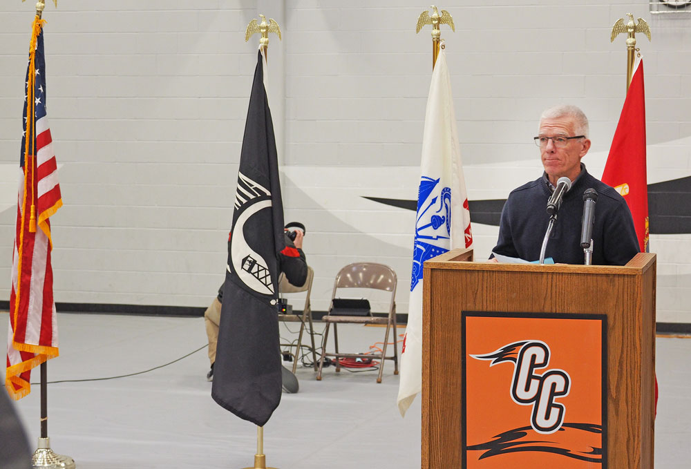 Charles City ceremony honoring veterans will be held Monday at Comet Gym