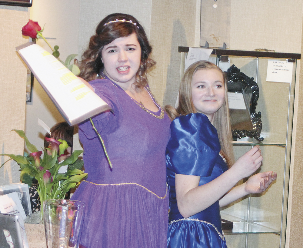 Valentine couples get taste of gourmet, Shakespeare at CCAC