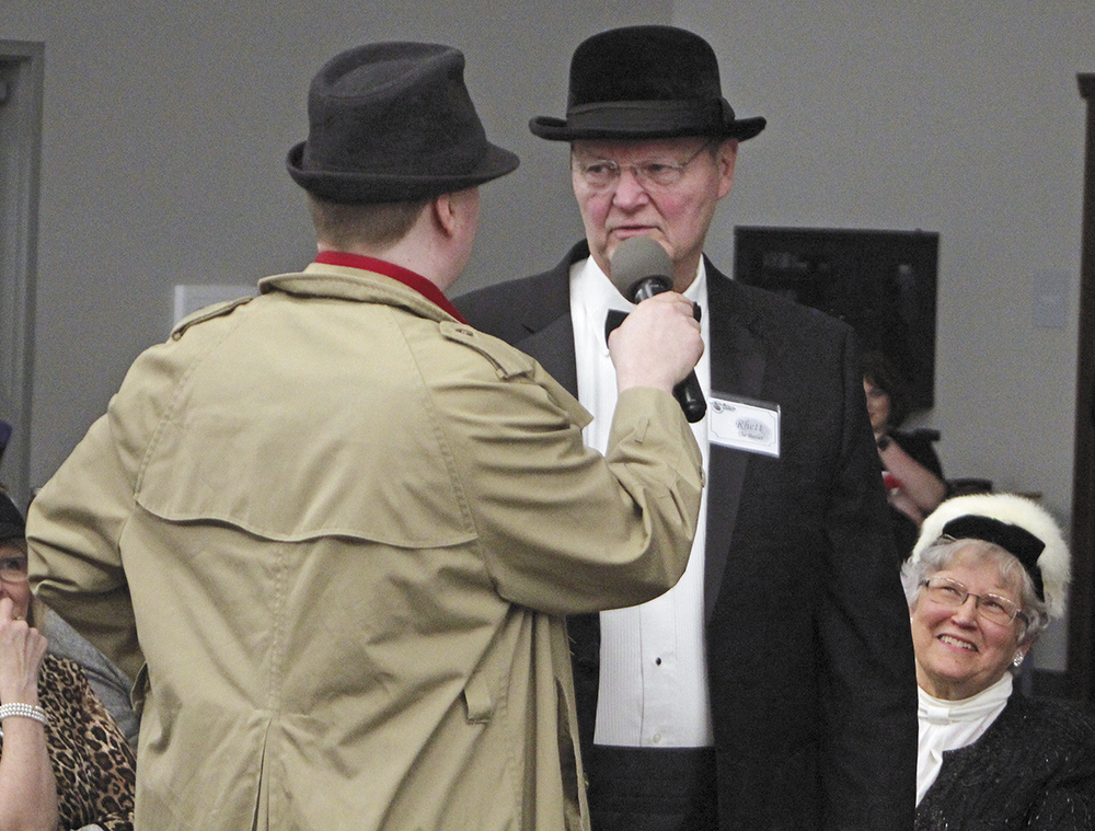 Mystery solved at Charles City wedding reception