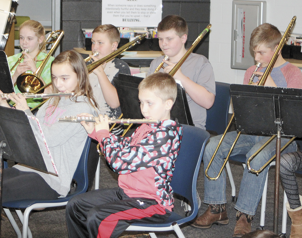 CCMS bands play at 'informances'