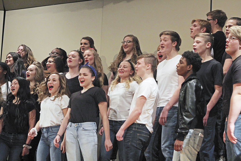 CCHS Pops Concert pays tribute to music of the 1950s and 60s