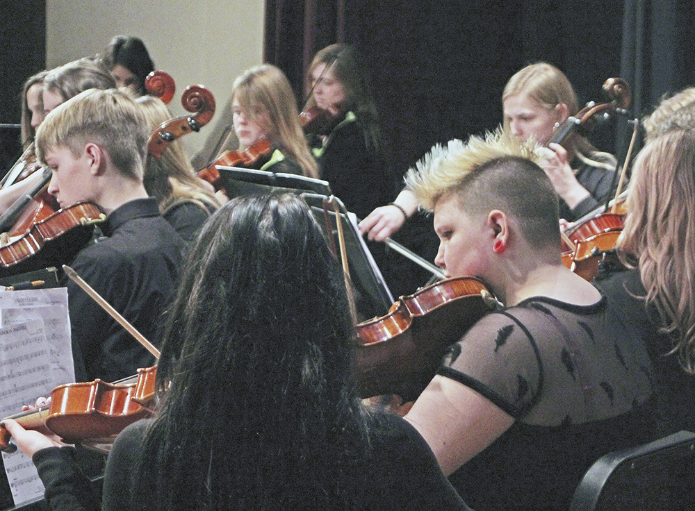 CCHS musicians finally get to play