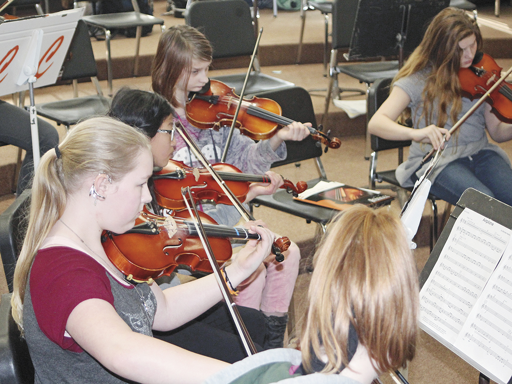 CCMS orchestras play at 'informance' Friday