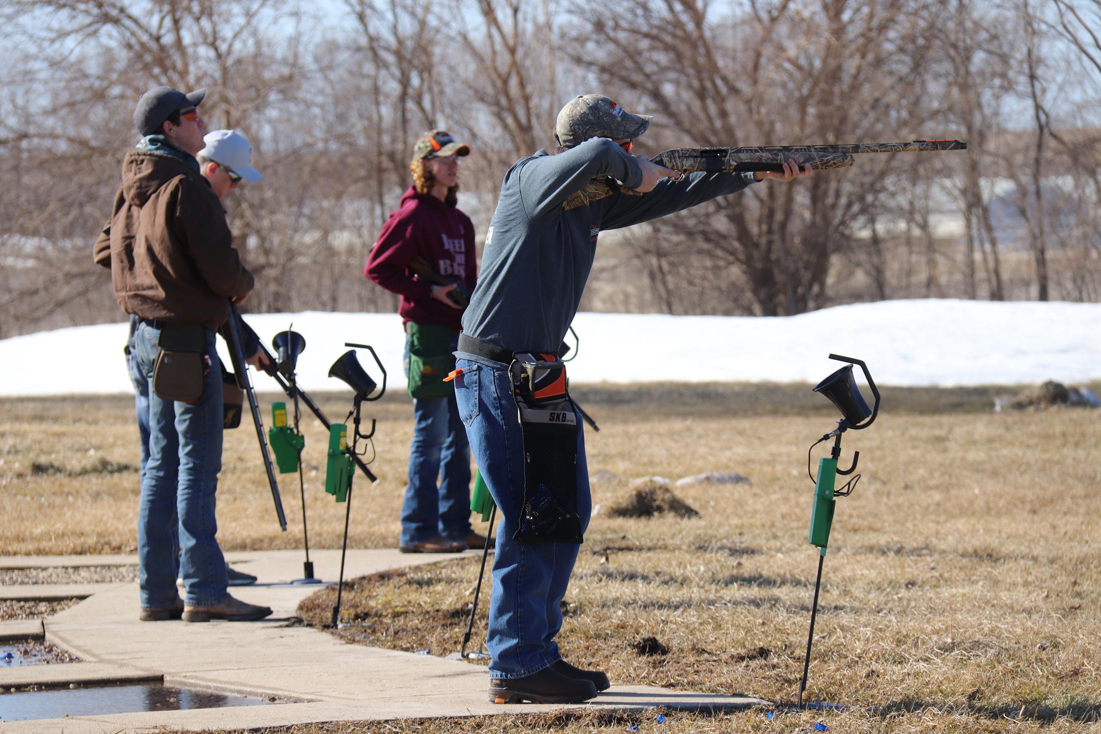 CC/N-P trapshooting team taking aim as new season in range