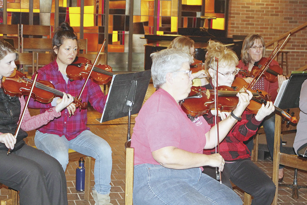 "Charles City Community Chamber Orchestra presents ""A Spring"