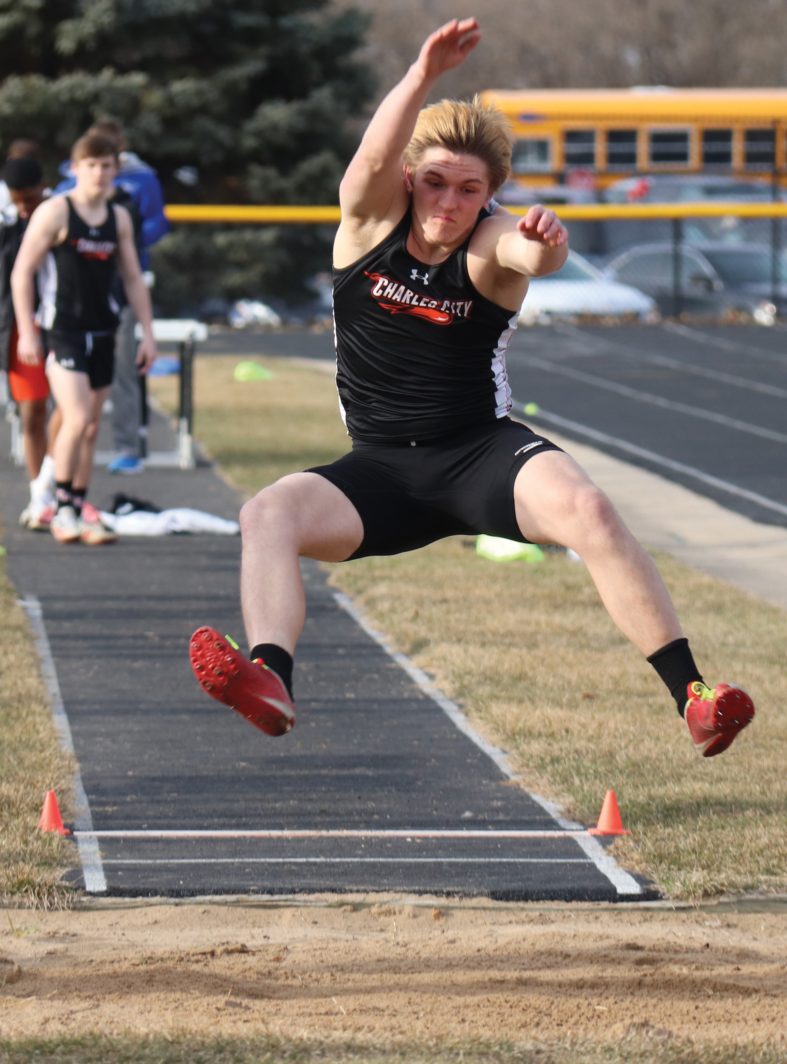 Comet girls 2nd, boys 3rd at Coed T&F Invitational