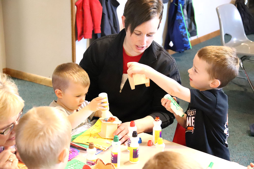 Learning Connection allows parents and children time to bond