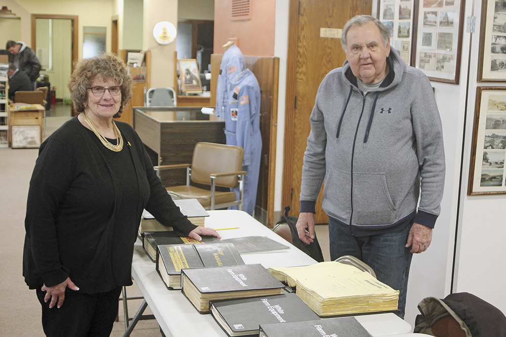 Documents of tractor history donated to Floyd County museum