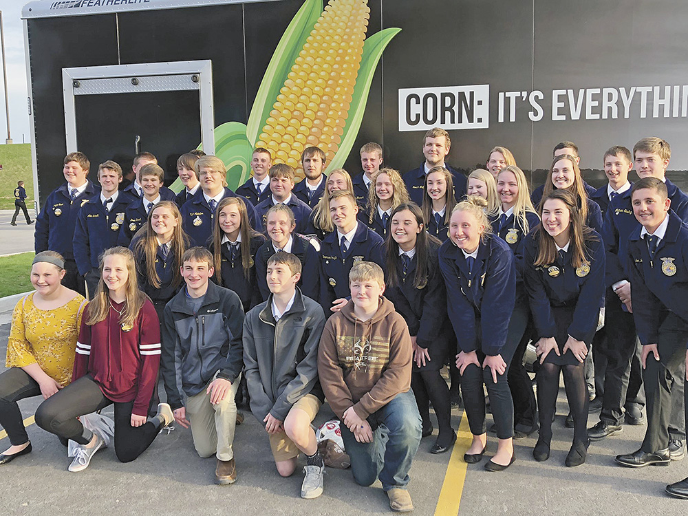 Charles City FFA attends Iowa Leadership Conference