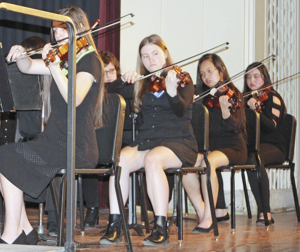CCHS band and orchestra present spring concert