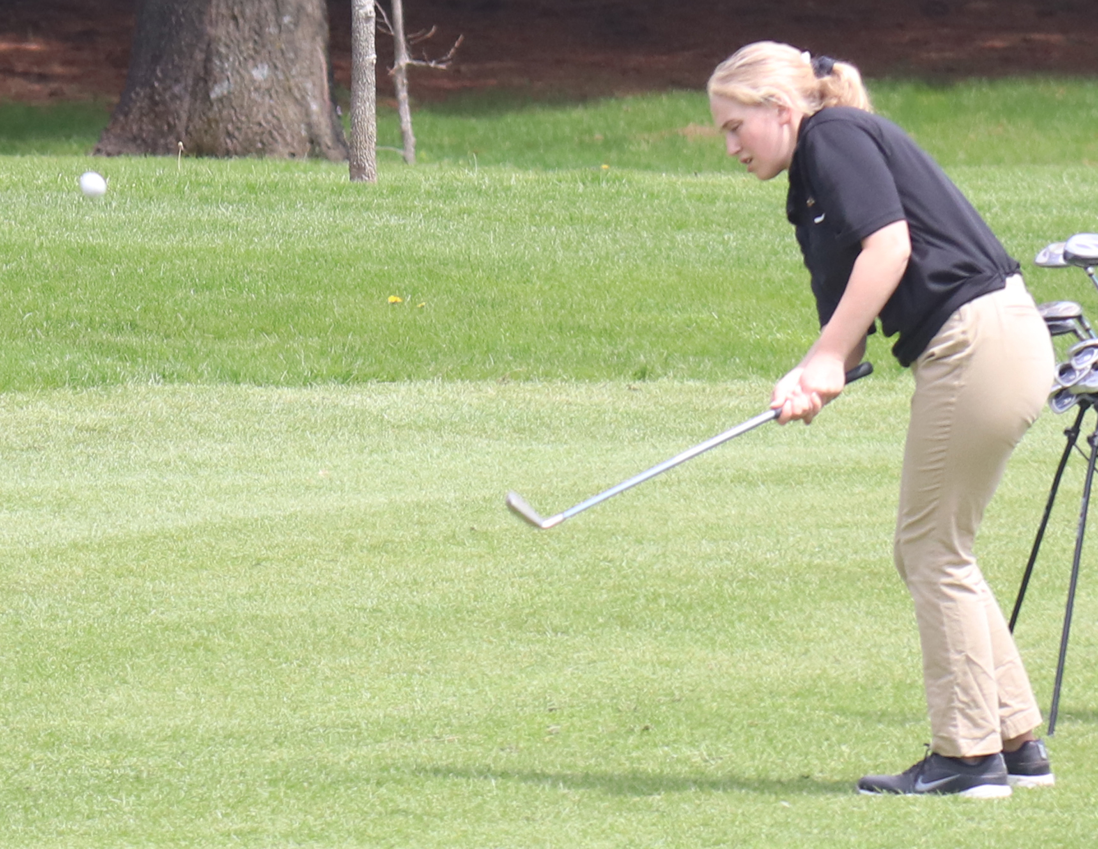 Comets record 18-hole career bests at NEIC Girls Meet