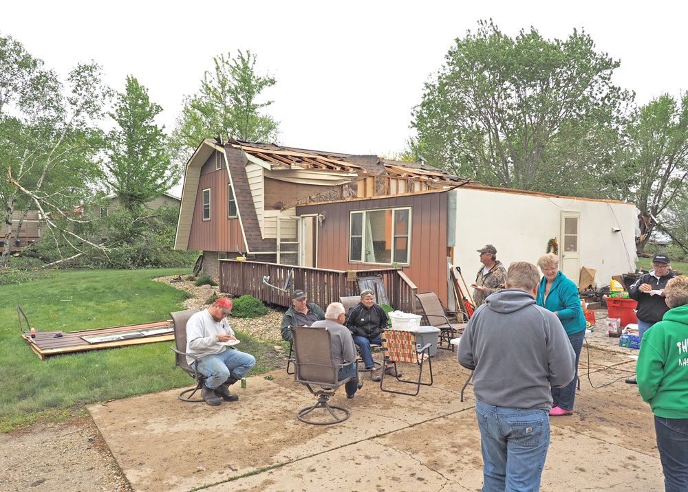 Cleanup Begins After Memorial Day Tornado Rips Through Area