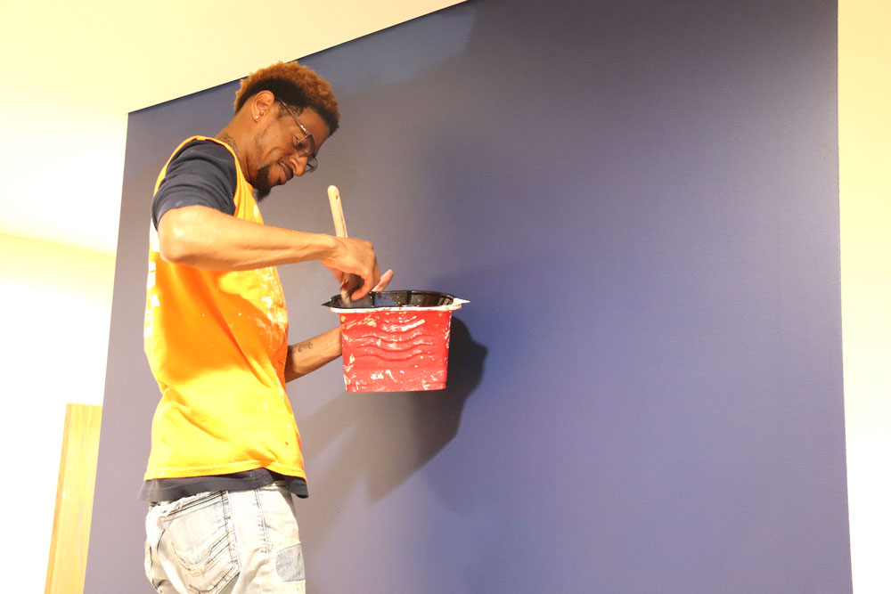 Charles City Public Library getting a new coat of paint