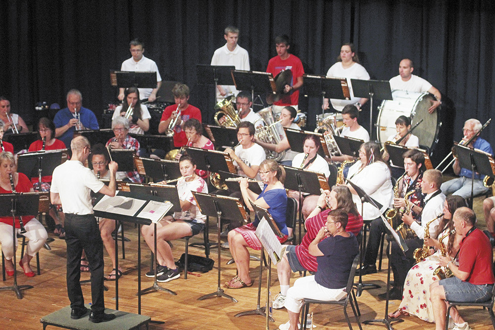 Charles City Municipal Band calls for musicians, announces concert dates for 39th season