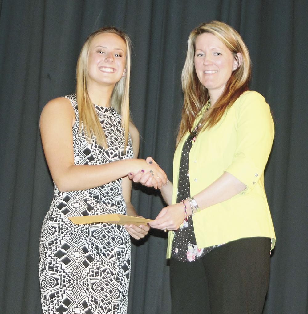 Crooks receives Eggert Scholarship