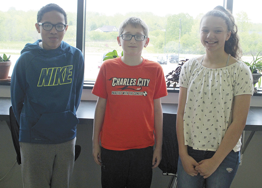 Charles City 6th graders compete in math bee