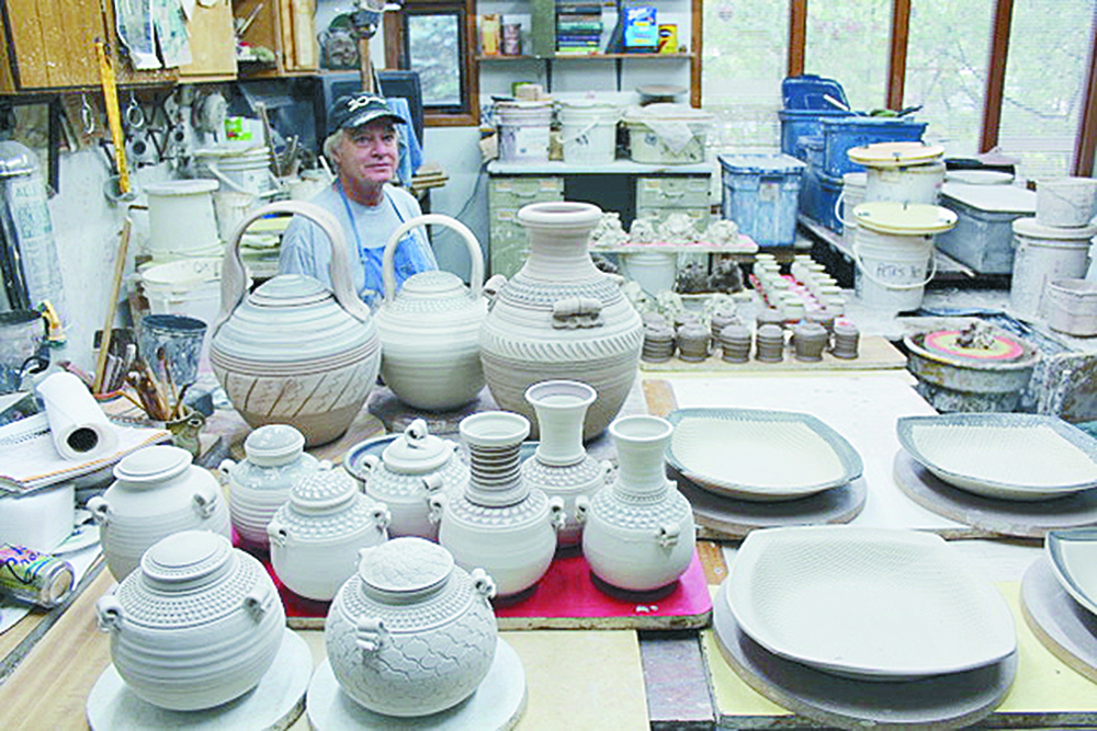 Ceramic art of Mateer and Kerns to be featured at CCAC in June