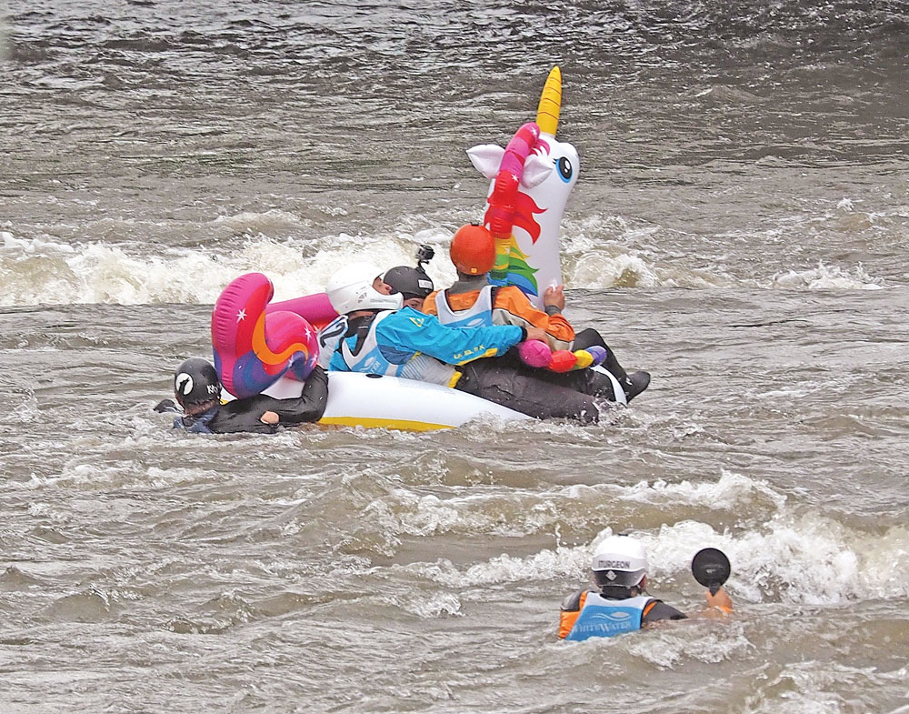 Wet and wild at the Charles City Whitewater Challenge – Charles City