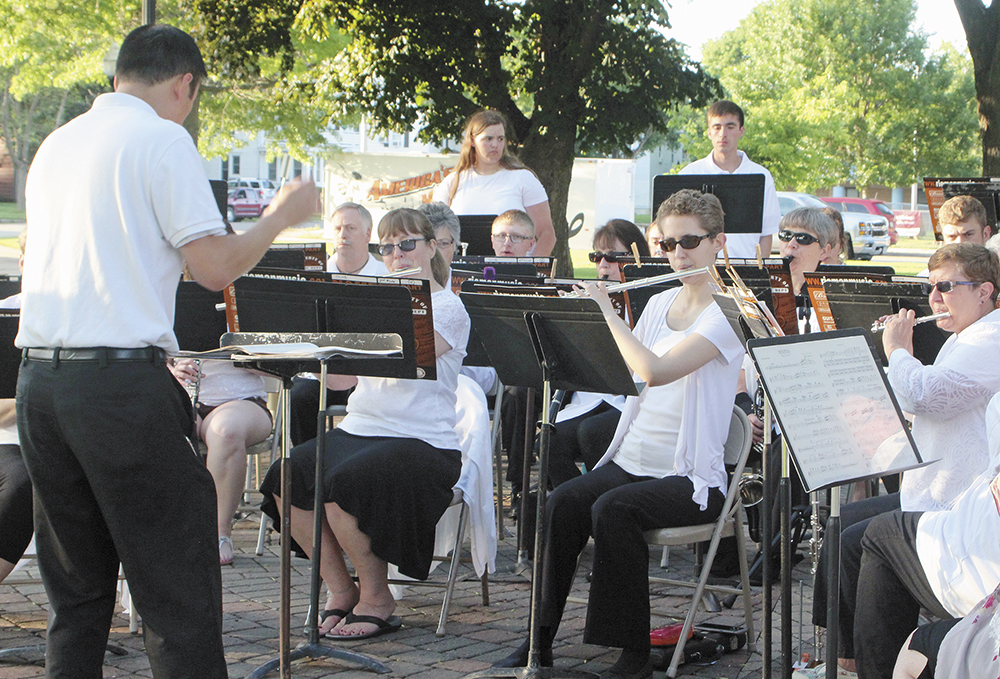 Municipal band performs second concert of season Sunday